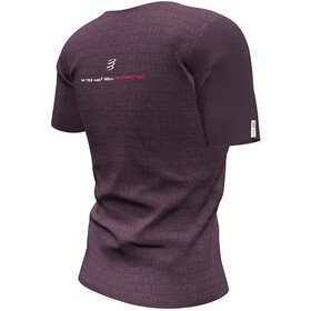 Compressport Training SS Tshirt Mont Blanc 2020 Women prune